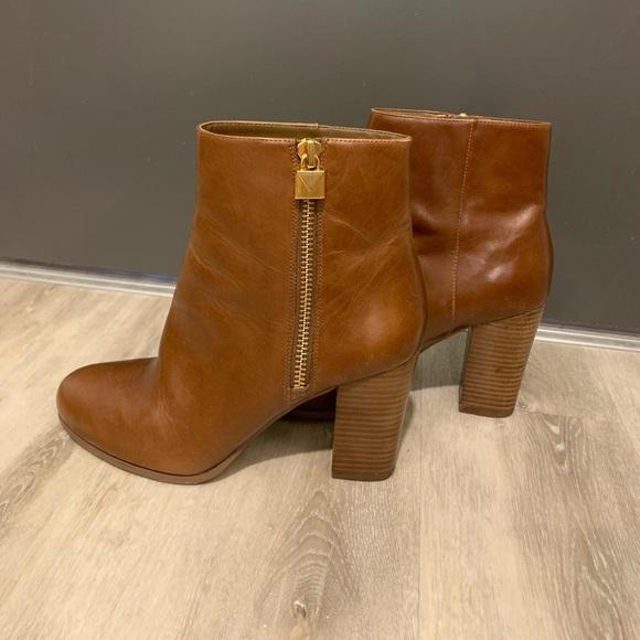 Leather Michael Kors Booties